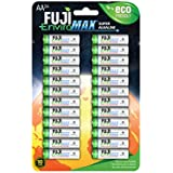 Fuji EnviroMAX Super Alkaline AA Eco Friendly Batteries (Pack Of 24)