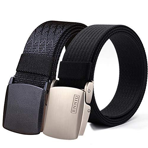 Fairwin Cintura Tattica in Stile Militare da Uomo, Tessuto in Nylon Cintura con Fibbia in Confezione Regalo