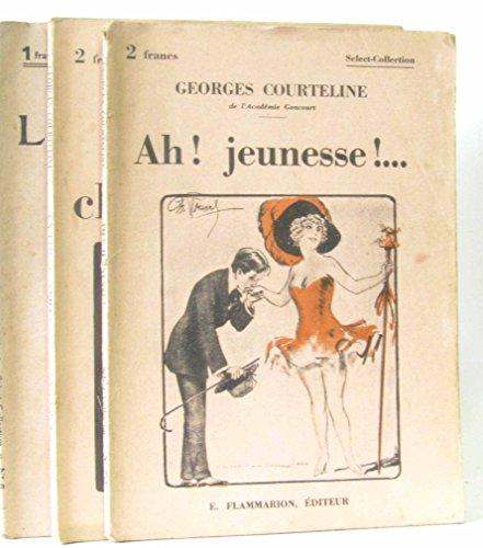 3 Romans Georges Courteline de de la collection select-collection: Ah! Jeunesse! (n°253) -un client sérieux (n°225) -Les gaîtés de l'escadron (n°6)