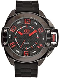 Gio Collection Analog Black Dial Men's Watch - GLED-1560PX
