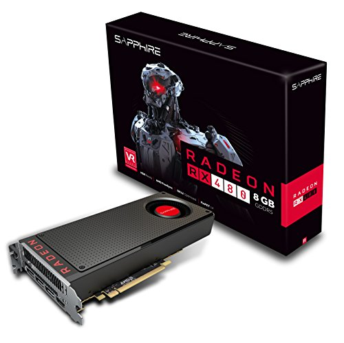 Sapphire 21260-00-20G-Tarjeta gráfica AMD RX 4801085mhz 8GB PCI Expess
