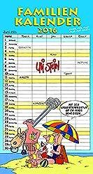 Familienkalender 2016: Wandkalender