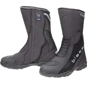 Black Oxygen Elite Motorcycle Boots 42 Black (UK8)