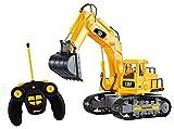 TopRace Boy 7Kanal Full Funktionelle Bagger, gelb, 35,6x 15,2x 20,3cm