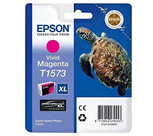 Epson T1573 Cartouche d'encre d'origine Vivid Magenta