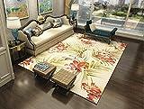 JTDD Einfache Moderne Heimteppich Wohnzimmer Sofa Couchtisch Teppich Schlafzimmer Matte (Farbe : #4, größe : 120 * 160cm)