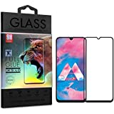 TecKraft Full Body Screen Protector Tempered Glass for Samsung Galaxy M30 with Installation Kit