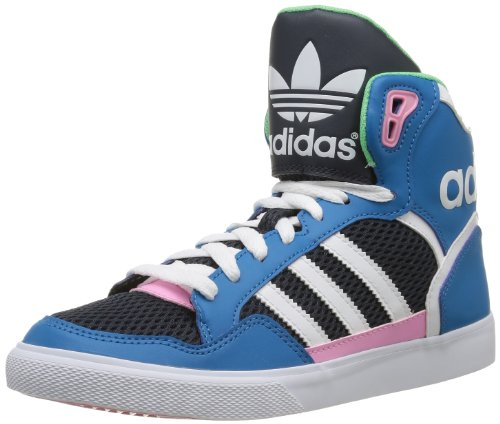 adidas Extaball W, Sneaker Donna blu (Blau (DARK SOLAR BLUE S14 / RUNNING WHITE FTW / ST TROPIC BLOOM S1))