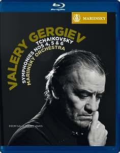 Tchaikovsky: Symphonies Nos. 4, 5 & 6 (Mariinsky Orchestra / Gergiev) [Blu-ray][Region Free]