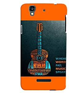 Micromax YU Yureka MULTICOLOR PRINTED BACK COVER FROM GADGET LOOKS