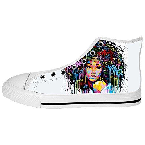 Canvas turnschuhe African Woman Lace Segeltuchschuhe Leinwand Sneakers up Dalliy top schuh Shoes E Men's High Schuhe 6RHfAq