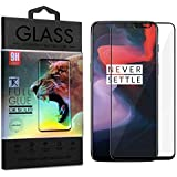 TecKraft Full Body Screen Protector Tempered Glass for One Plus 6 with Installation Kit