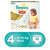 #6: Pampers Premium Care Pants Diapers, Size 4 - Maxi (22 Pieces)