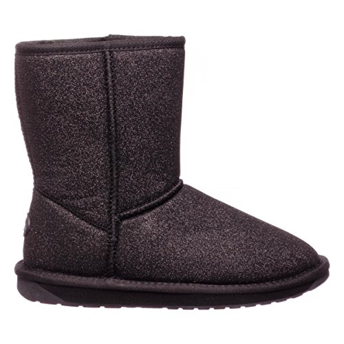 r Lo Sparkle Damen, Glattleder, Low Boots, 35/36 EU (Black Sparkle Boots)