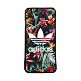 custom-case Coque Coque TPU pour Tous Les Mobile avec Design Adidas Fleurs Tropicales Arrière Retro Vintage Logo pour iPhone 5c