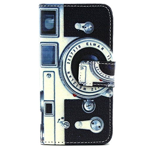 Leather Retro Camera Case for iPhone 5/5S