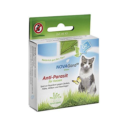 novagard-green-spot-on-repellent-fur-katzen-2x1-ampulle