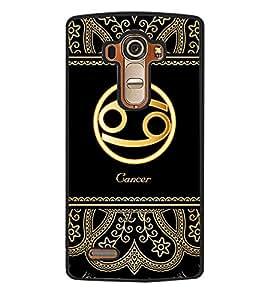 Printvisa 2D Printed Sunsign Cancer Designer back case cover for LG G4- D4249