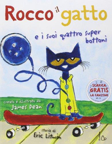 Rocco il gatto e i suoi quattro super bottoni