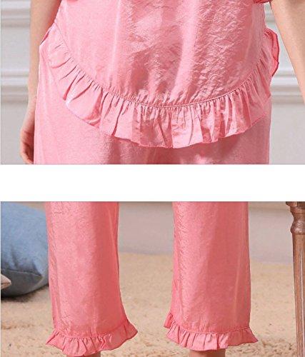 2017 Ressort Pyjama En Coton Monopièce Mme Orange