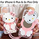 Best Iphone 6 Plus Case For Girls - KC Lovely Helloo Kitty Dynamic Liquid Glitter S Review