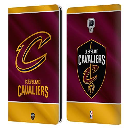 Head Case Designs Offizielle NBA Banner 2019/20 Cleveland Cavaliers Leder Brieftaschen Huelle kompatibel mit Samsung Galaxy Tab A 8.0 2017 -