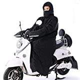 HWG-GAOYZ Parabrezza per Auto Elettriche Parabrezza per Auto Batteria Abbigliamento per Motociclisti Indumenti Protettivi Inverno Tuta Caldo,A-XXL
