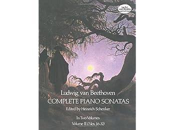 Beethoven Piano Sonatas: Series 2: 002 (Dover Music for Piano)