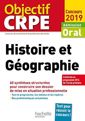 CRPE en fiches : Histoire Géographie 2019 par  Laurent Bonnet