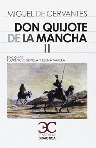 Don Quijote de la Mancha I - II [2 Vols.] (CASTALIA DIDACTICA) por F. Sevilla Arroyo