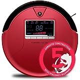 E.ZICOM e.ziclean VAC 100 RED Aspirateur Robot