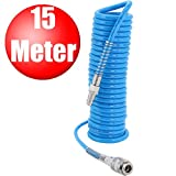 Spiral Druckluftschlauch 15 Meter 5x8 mm, 15 Meter