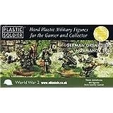 Plastic Soldier 15mm German Grenadiers in Normandy 1944 # 2015011 - Plastic Model Figures by Plastic Soldier