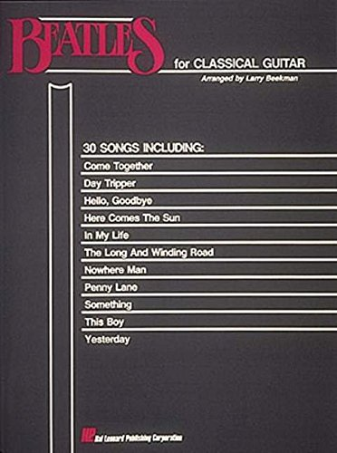 Beatles for Classical Guitar: Guitar Solo