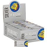 Lot - 4 rouleaux Rolls - Papier à cigarettes -The Bulldog Amsterdam Silver - 5 mètres