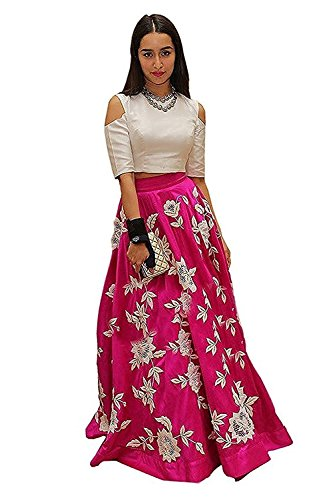 Womens Clothy Suits for Women Indo-Western Red Party Wedding Wear Floor Length Gown/ Anarkali Suit/ Salwar Suit  available at amazon for Rs.499