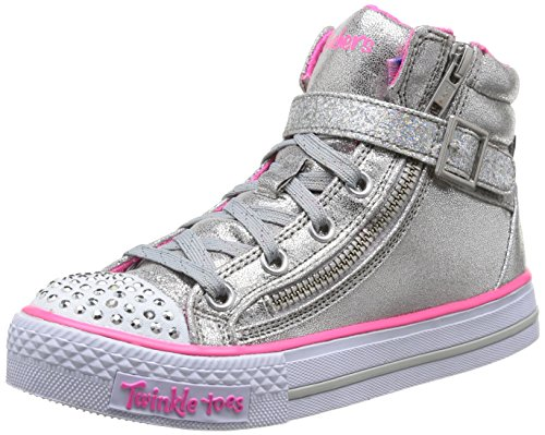 skechers-shuffles-heart-sole-baskets-mode-fille-argent-sil-32-eu-13-uk-1-us