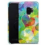 DeinDesign Samsung Galaxy S9 Hülle Premium Case Cover Love Amour Plexi Bunt