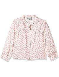 Cherokee Girls' Plain Regular Fit Cotton Shirt