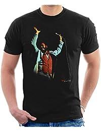 David Redfern Official Photography - Marvin Gaye At The Royal Albert Hall London 1976 Men's T-Shirt