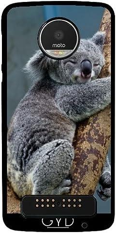 Hülle für Lenovo (Motorola) Moto Z Play - Koala by WonderfulDreamPicture