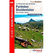 Pyrenees Occidentales GR10/GR8 PNR Pays basque Bearn 2016: FFR.1086