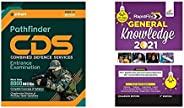 Pathfinder CDS Combined Defence Services Entrance Examination 2020+Rapid General Knowledge 2021 for Competitiv
