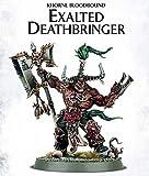 Games Workshop 99070201010 Khorne Bloodbound Exalted Deathbringer Tabletop and Miniature