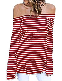 Mujer Blusas Primavera Otoño Largos Shirts Elegantes Moda Túnica Vintage Informales Hipster Camisas Sin Tirantes Fiesta