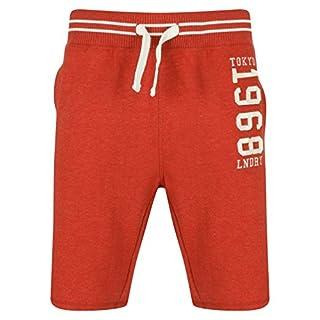 Tokyo Laundry Axial Jogger Shorts in Tokyo Red Marl L
