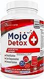 MOJO™ DETOX Leber Gallenblasenreinigung Entgiftung: Nahrungsergänzungsmittel für Stärkung des Immunsystems - entschlackt und revitalisiert Galle & Leber - Stoffwechselkur mit 120 Kapseln für 4 Mona