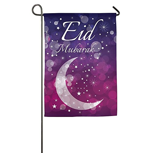 nalisierte Gartenflagge - Eid Mubarak Ramadan Flagge, 31,8 x 45,7 cm ()