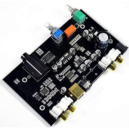 gfjfghfjfh PCM5100 Digital-Analog-Wandler USB-Glasfaserplatine RCA-DAC-Dekodierungsplatine 96 kHz Für PC-TV-Verstärker