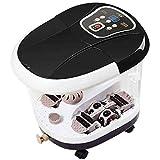 CSF Fußbad automatische Massage elektrische Fass Fußbad Fass Fußbad Fußmassage Massage Thermostat nach Hause schwarz